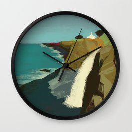 The Coast of California Wall Clock