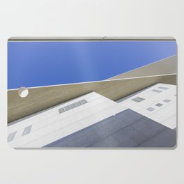 architectural detail of modern building Cutting Board