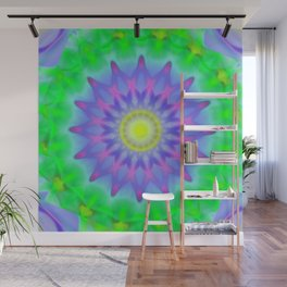 Abstract Flower AA YY Wall Mural