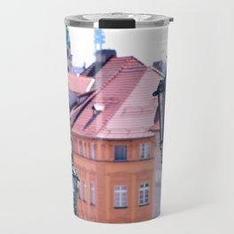 Pink Prague Travel Mug