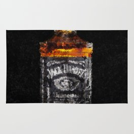 Jack Daniels Whiskey Wall Art, Print, Home Decor, Dorm Decor, Impressionism Rug
