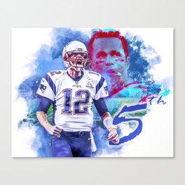Superbowl routine Canvas Print