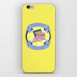The Spam of Enlightenment iPhone Skin
