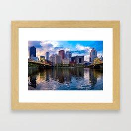 Beautiful Pittsburgh Framed Art Print