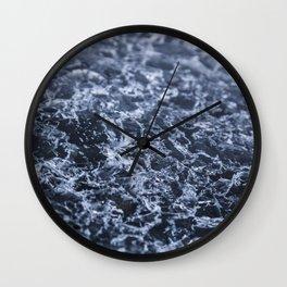 Glacial Ice Wall Clock