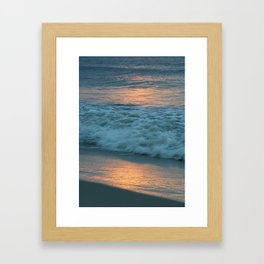Sunrise, Jersey Shore Framed Art Print