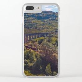 Choo Choo Clear iPhone Case