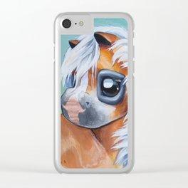Haflinger Beauty Clear iPhone Case