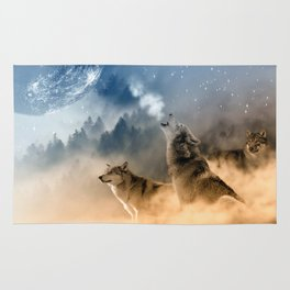Moonrise Howl Rug