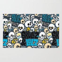 Skullz & Lulz Pattern Rug