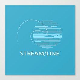Streamline Swimwear Merchandise Canvas Print