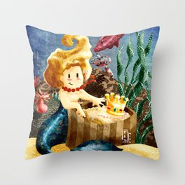 A Maruxaina Throw Pillow