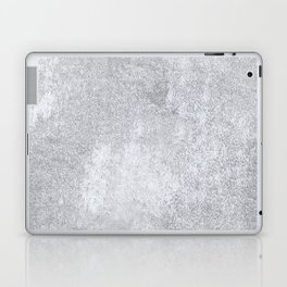 Abstract silver paper Laptop & iPad Skin