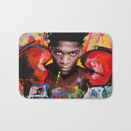 Jean-Michel Basquiat-ART Bath Mat