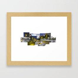 Av Libertador Framed Art Print