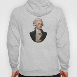 Thomas Jefferson Painting Hoody
