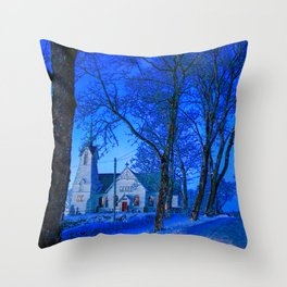 Swedish Church Throw Pillow