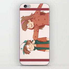 boop iPhone Skin