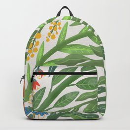 Floral Rainbow Backpack