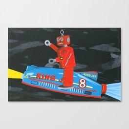 rocket robot Canvas Print
