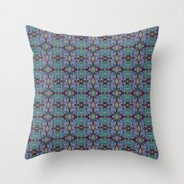 Overshot Pattern Throw Pillow