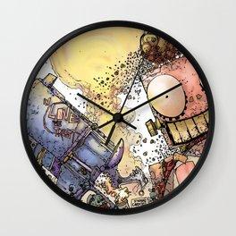 LOVE ME LIKE A PSYCHO ROBOT Wall Clock