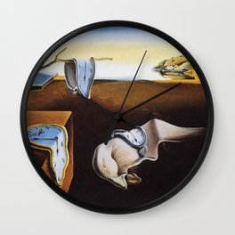 THE PERSISTENCE OF MEMORY - SALVADOR DALI Wall Clock
