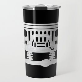 Jeep Black Chrome Travel Mug