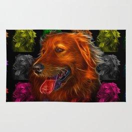 Golden Retriever Pop Art - 4057 Rug