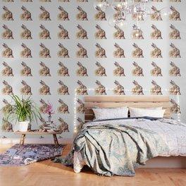 Rabbit Portrait Wallpaper