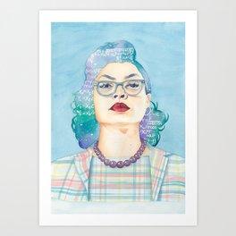Katherine Johnson Hidden Figures Art Print