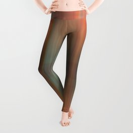 Abstract pattern pink and grey Leggings