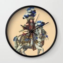 Prince de Conde Wall Clock
