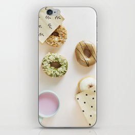 Diverse Donuts Bakery Shop iPhone Skin