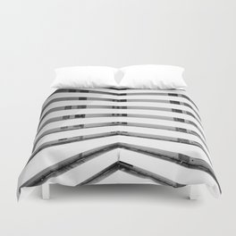 Folded Lines Duvet Cover