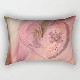 The painful past Rectangular Pillow
