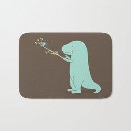 Selfie T-Rex Bath Mat