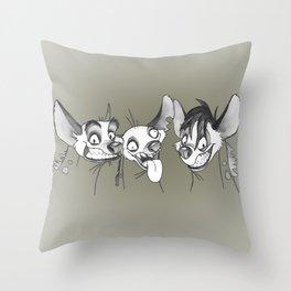 Hyenas / Shenzi, Banzai and Ed / Lion King Throw Pillow