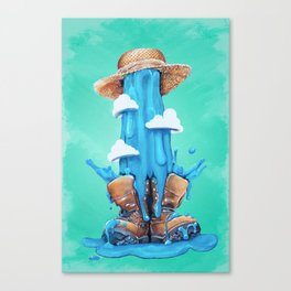 Intrusive Sky Canvas Print