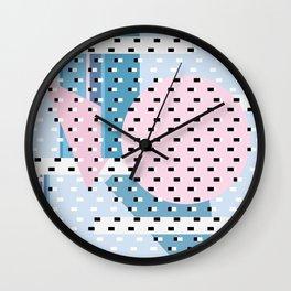 Hello City - New Day Wall Clock