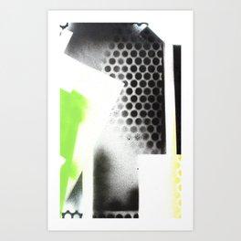 Abstract Series 6 no9 Art Print