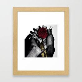 The only color I see Framed Art Print
