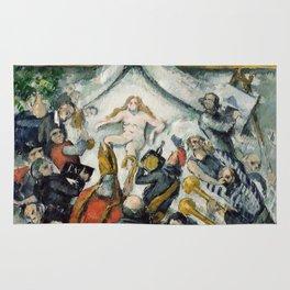 "Paul Cezanne ""The Eternal Feminine"" Rug"