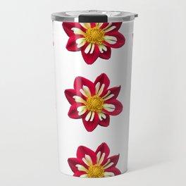 Dahlia Pinwheels Travel Mug
