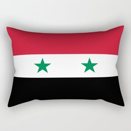 National flag of Syria Rectangular Pillow