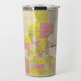 Chapman's New Sectional Map of Minnesota (1856) Travel Mug