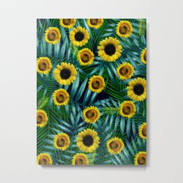 Sunflower Party #2 Metal Print