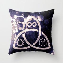 Raines Empire - Coalition Symbol Throw Pillow