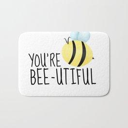 You're Bee-utiful Bath Mat