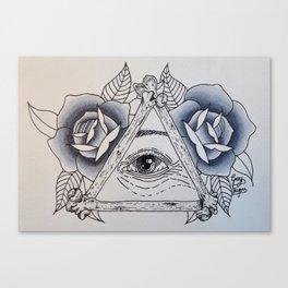 Big Sis' Eye of Providence Canvas Print